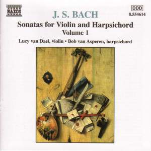 Bach, J.S.: Sonatas For Violin And Harpsichord, Vol. 1 Product Image
