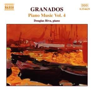 Granados - Piano Music Volume 4