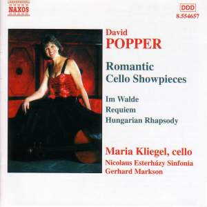 Popper: Romantic Cello Showpieces Product Image