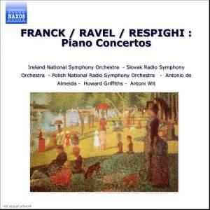 Franck, Respighi & Ravel: Piano Concertos Product Image