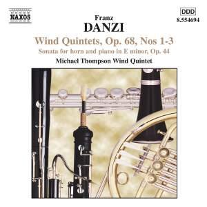 Danzi: Wind Quintets & Horn Sonata Product Image