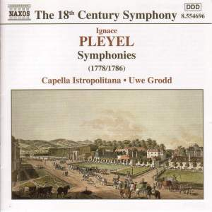 Pleyel: Symphonies in C major, F minor & C minor