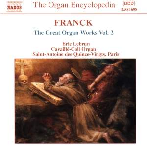 Franck: Great Organ Works, Vol. 2 Product Image