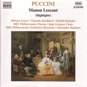 Puccini: Manon Lescaut (highlights) Product Image