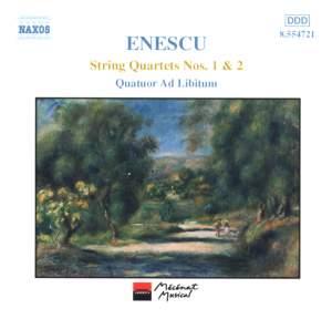 Enescu: String Quartets Nos. 1 & 2 Product Image