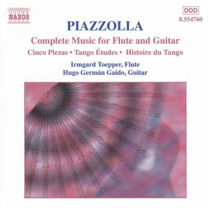 Piazzola: Complete Music for Flute and Guitar