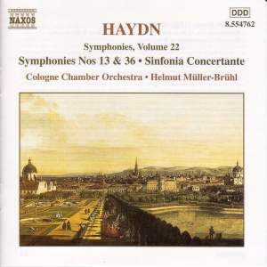 Haydn - Symphonies Volume 22 Product Image