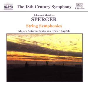 Sperger: String Symphonies Product Image