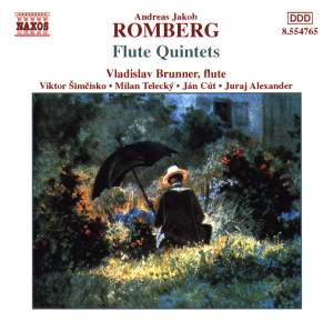Andreas Romberg: Flute Quintets Product Image