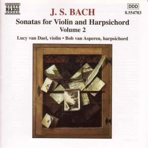 JS Bach: Sonatas for Violin & Harpsichord Vol. 2 Product Image