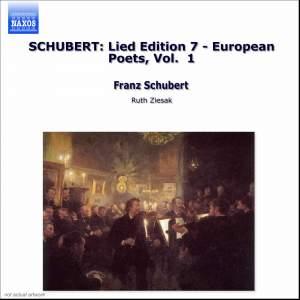 Volume 7 - European Poets Volume 1