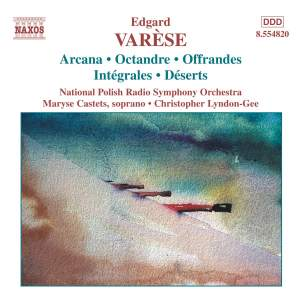 Varèse - Orchestral Works Volume 1 Product Image