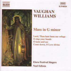 Vaughan Williams: Sacred Choral Music Product Image