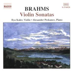 Brahms: Violin Sonatas Nos. 1-3 (complete) Product Image