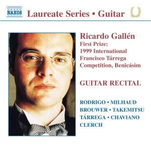 Guitar Recital: Ricardo Gallén