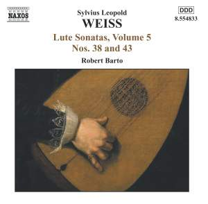 Weiss: Lute Sonatas Volume 5 Product Image