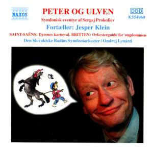 Peter and the Wolf, Carnival of the Animals and Young Person's Guide Product Image