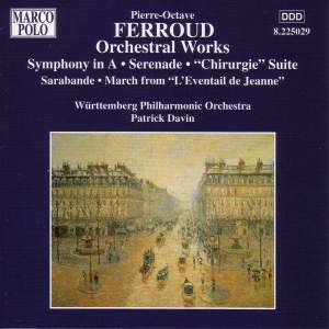 Ferroud: Orchestral Works Product Image