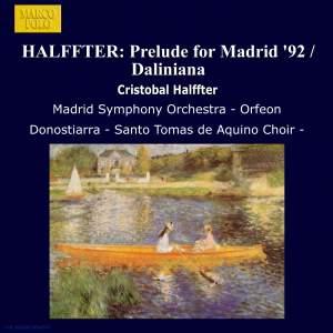 Cristóbal Halffter: Orchestral & Choral Works Product Image
