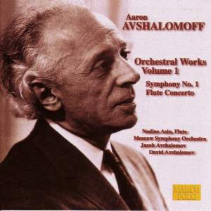 Aaron Avshalomoff: Orchestral Works Vol. 1 Product Image
