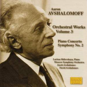 Avshalomoff: Orchestral Works, Vol. 3 Product Image