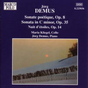 Jorg Demus: Music for Cello & Piano Product Image