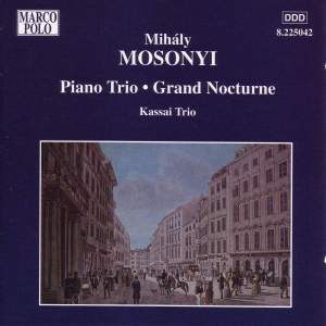 Mihaly Mosonyi: Works for Piano Trio Product Image