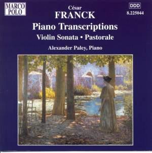 Franck: Piano Transcriptions Product Image
