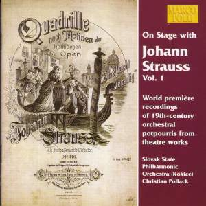 On Stage with Johann Strauss, Vol. 1 Product Image