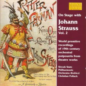 On Stage with Johann Strauss, Vol. 2 Product Image