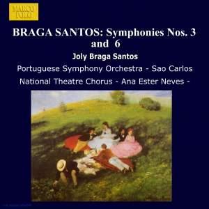Joly Braga Santos: Symphonies Nos. 3 & 6 Product Image