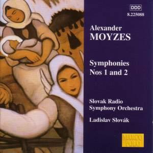 Alexander Moyzes: Symphonies Nos. 1 & 2 Product Image