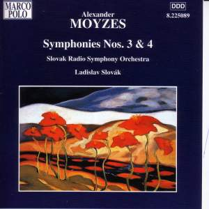 Moyzes: Symphonies Nos. 3 and 4 Product Image