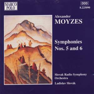 Moyzes: Symphonies Nos. 5 and 6 Product Image