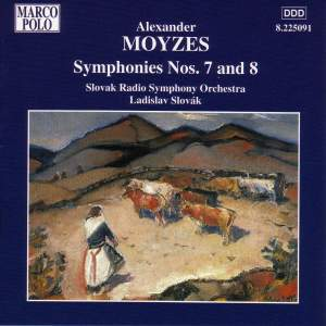 Moyzes: Symphonies Nos. 7 and 8 Product Image
