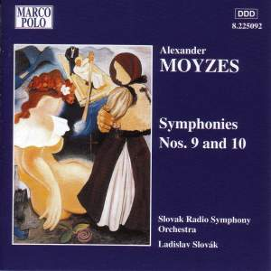 Moyzes: Symphonies Nos. 9 and 10 Product Image