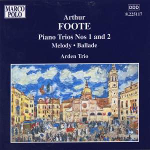 Arthur Foote: Piano Trios Nos. 1 and 2 Product Image