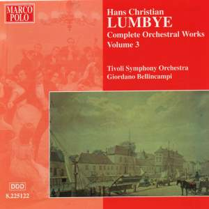 Lumbye - Complete Orchestral Works Volume 3 Product Image