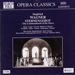 Wagner, S: Sternengebot, Op. 5 Product Image