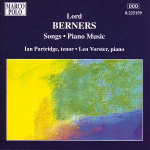 Lord Berners: Songs & Piano Music