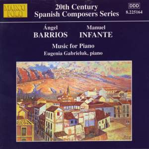 Angel Barrios & Manuel Infante: Music for Piano Product Image