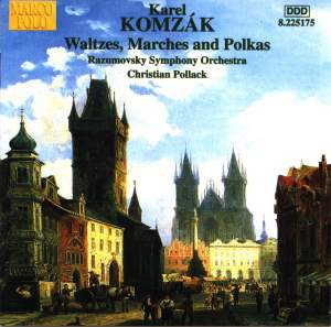 Komzák - Waltzes, Marches and Polkas, Volume 1
