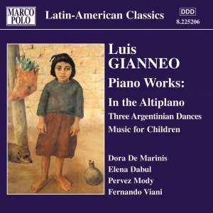 Luis Gianneo: Piano Music Product Image