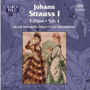 Johann Strauss I Edition, Volume 4