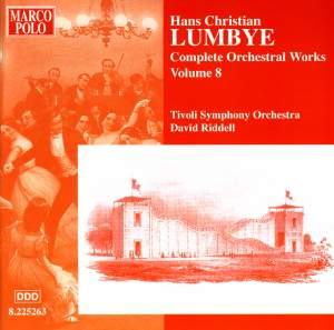 Lumbye - Complete Orchestral Works Volume 8 Product Image