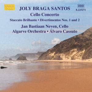 Braga Santos, J M: Concerto for Cello and Orchestra, etc.