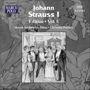 Johann Strauss I Edition, Volume 8 Product Image