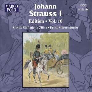 Johann Strauss I Edition, Volume 10