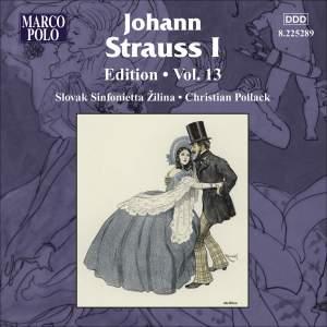 Johann Strauss I Edition, Volume 13 Product Image