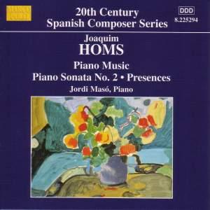 Joaquim Homs: Piano Music Product Image